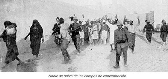Compos de concentración Libia