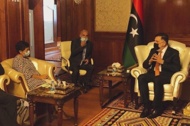 La Ministra de Asuntos Exteriores de España de visita oficial a Libia png